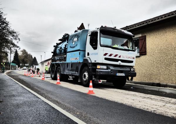 Curage canalisations à Vienne pour ViennAgglo