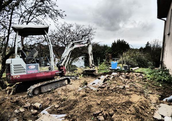 Réhabilitation d'un assainissement autonome à Chuzelles